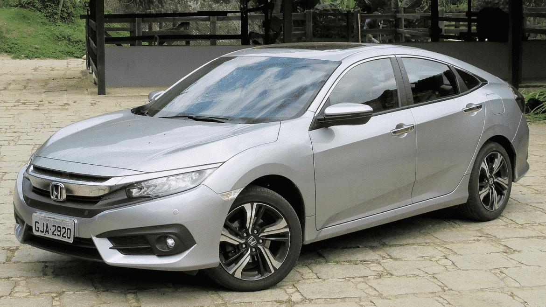 Silver Honda Civic