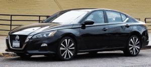 Nissan Altima Black