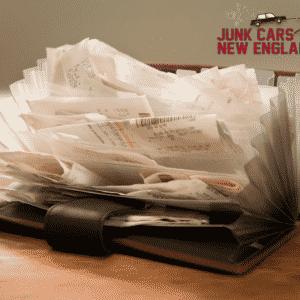 junk car receipt