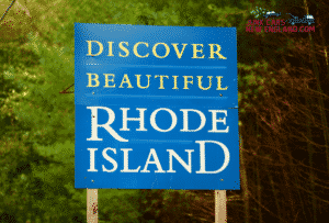 Welcome to Rhode Island Sign