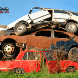 Pile of Junk Cars (1)